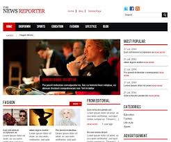 newspaper theme html5 40 free magazine html5 website templates