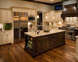 Styles Of Interior Design by Interior Wooden Types Of Kitchen Flooring With Black Granite