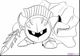 meta knight coloring pages print meta knight coloring pages 15