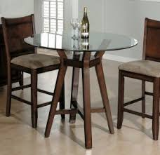 Round Glass Dining Room Table Sets Foter - Round glass top dining room table