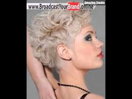 Frisuren Kurz Damen Blond by Kurze Lockige Frisuren Für Frauen Haar