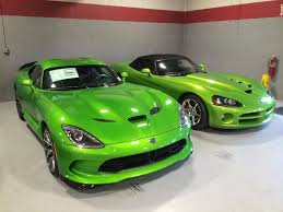 Dodge Viper Green - stryker green on the ground page 2