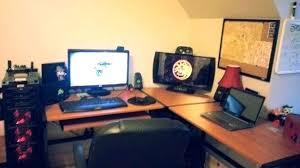 l shaped desk gaming setup gaming setup desk gaming computer desks setup gaming desktop