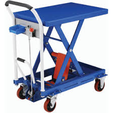mobile hydraulic scissor lifts battery powered electric lifting