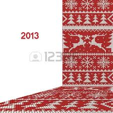 christmas pattern knit fabric illustration of christmas knitting pattern royalty free cliparts