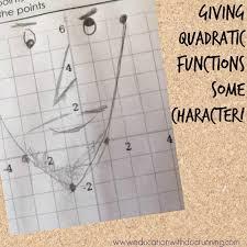 math mondays quadratic function graphs make funny faces