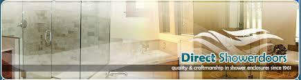 Direct Shower Door Frameless Glass Shower Doors