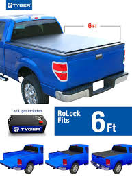 Ford Ranger Truck Box - tyger rolock low profile roll up truck bed tonneau cover for 1982
