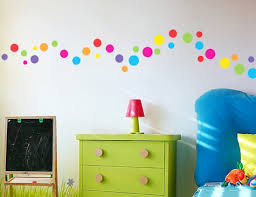 Buy These Polka Dot Wall Stickers Perfect For Kids Bedrooms - Polka dot wall decals for kids rooms