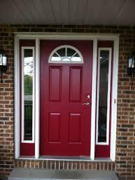 Painting Exterior Doors Ideas Great Door Brick House With Best 25 Front Doors Ideas On