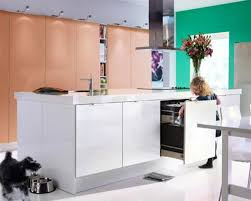 Ikea Kitchen Design Ideas A Medium Size Kitchen With Light Beige High Gloss Doors And