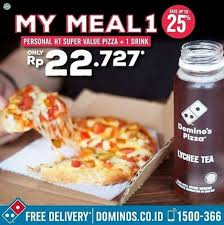 domino pizza tangerang selatan special price my meal 1 package at domino s pizza gotomalls