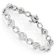 bracelet diamond designs images Designer diamond bracelet 14k 4 94ct jpg