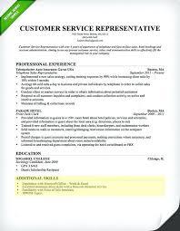 resume language skills sample customer service skills section