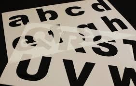 alphabet stencils alphabet stencil stencil alphabet