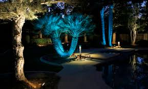 Colored Landscape Lighting Landscape Lighting Project Sestak Lighting Design