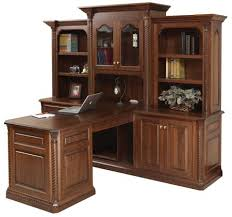 T Shaped Office Desk Furniture Partner T Shaped Desk With Hutch Home Interior Design
