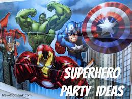 superhero birthday party ideas with free printables life