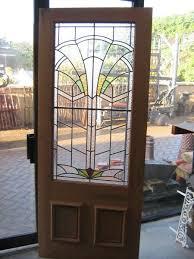 stained glass interior door art deco leaded glass door panels home work in progress