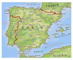 Port Of Spain Map by Maps Of Spain Detailed Map Of Spain In English Tourist Map