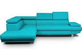 canape turquoise grande canape d angle design convertible pas cher pu turquoise lomande
