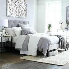 Upholstered Bed Frame Full Grey Fabric Bed Frame U2013 Tappy Co