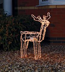 this pretty nodding reindeer light christmas decoration makes