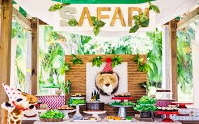 jungle themed birthday party kara s party ideas inspired safari birthday party kara s