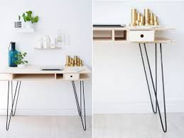 Diy Desk Legs The Key To Chic Diy Furniture Is A Set Of Hairpin Legs