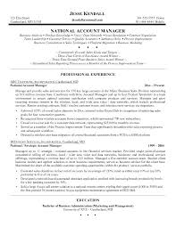 account manager resume exles sle resume for sales account manager resume exles resume