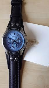 watches for men men u0027s fossil coachman chronograph cuff watch ch2564 watch shop