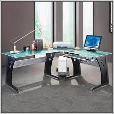 Desk At Office Max L Shaped Glass Computer Desk Office Max Desk Home Design Ideas