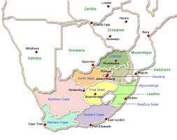 map of south africa south africa map search south accommodation