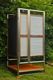How To Build An Outdoor Shower Enclosure - wooden outdoor shower enclosure diy outdoor shower enclosure
