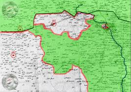 Map Of Northern France by Map Of The Situation In Northern Iraq U2022tal U0027afar Is Completely