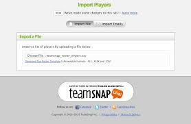 teamsnap for teams leagues clubs and associations home feature alert roster schedule import and better texting