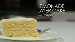Wedding Cake Palembang Lemonade Layer Cake Recipe Myrecipes