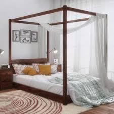 striado four poster bed urban ladder