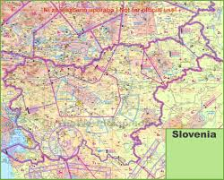 Topography Map Topographic Map Of Slovenia