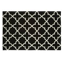 Black And White Striped Outdoor Rug by Black And White Geometric Outdoor Rug Creative Rugs Decoration