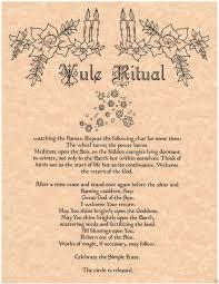 yule ritual wiccan ways pinterest yule