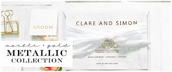 Invitations For Weddings Order Your Marble And Gold Wedding Invitations Info Cards Order
