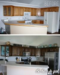 Resurface Cabinets The How To Gal How To Refinish Kitchen Cabinets