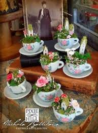 Miniature Tea Cups Favors by Vintage Teacup Crafts Use Vintage Teacups For Crafts Design