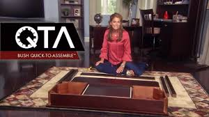 quick to assemble by kathy ireland office bush furniture youtube