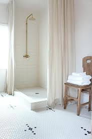 Small Bathroom Designs With Walk In Shower Best 25 Two Shower Curtains Ideas On Pinterest Kids Bathroom
