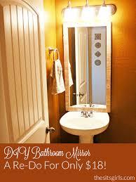 diy bathroom mirror ideas diy bathroom diy bathroom mirror mirror in the bathroom