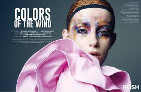 Color Of The Wind Colors Of The Wind Posh Magazine Thailand March 2017 On Behance