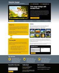web design services one page websites copy and backup your website