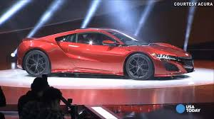 acura supercar acura shows revised nsx supercar and prices it